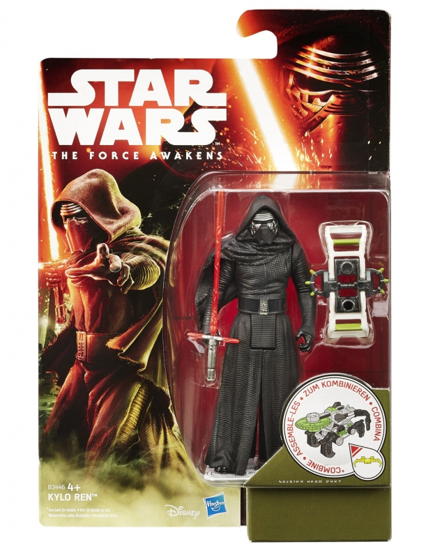Star Wars Action Figure - The Force Awakens - Jungle Space - Kylo Ren - 2