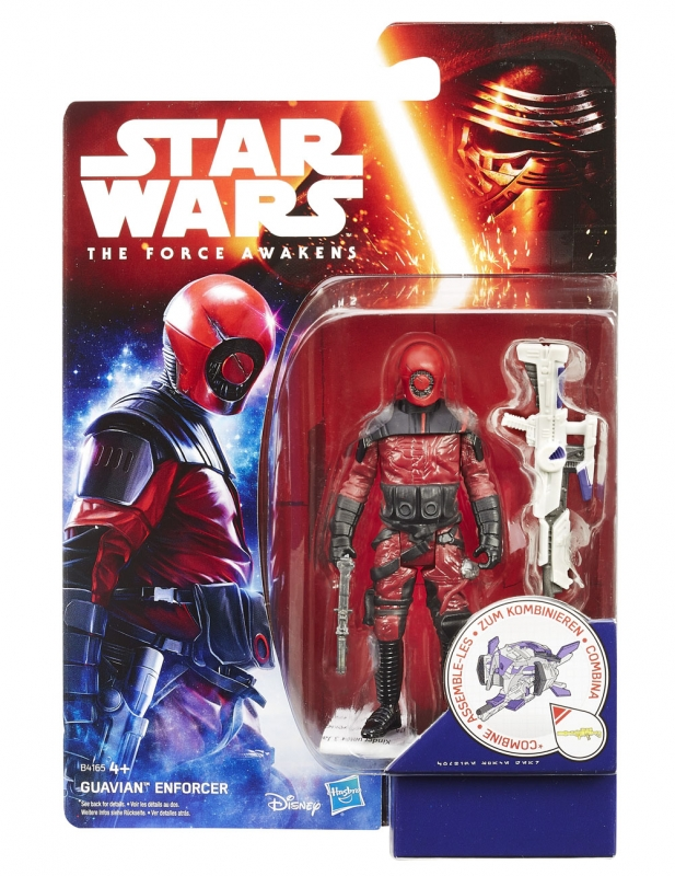 Star Wars Action Figure - The Force Awakens - Jungle Space - Guavian Enforcer