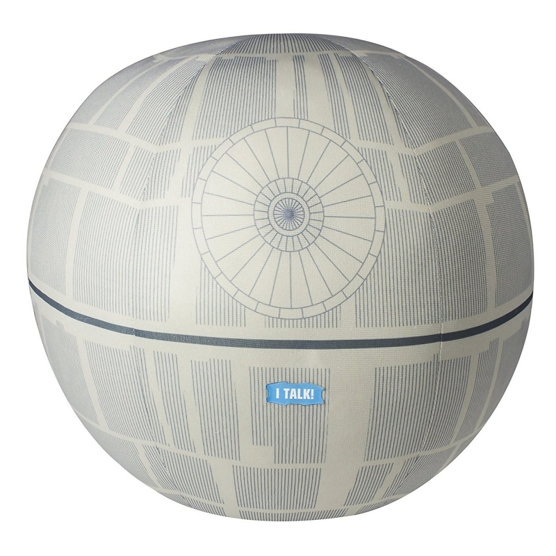 Star Wars Talking Death Star Plush Toy - Sale