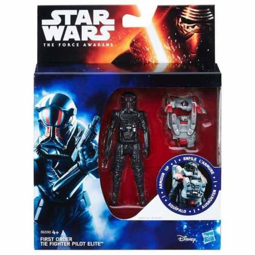 Star Wars Action Figure - The Force Awakens - Jungle Space - Armour Up - First Order TIE Fighter Pilot Elite