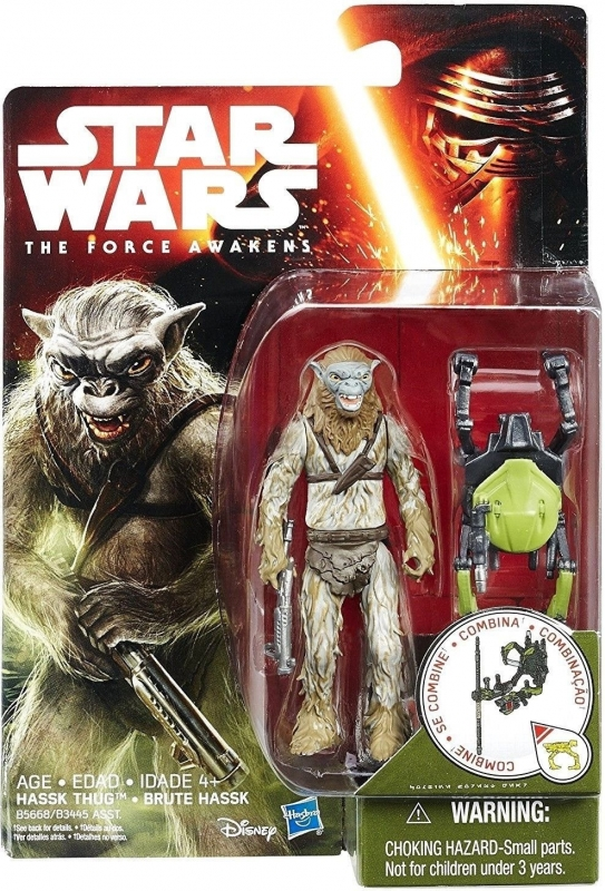 Star Wars Action Figure - The Force Awakens - Jungle Space - Hassk Thug