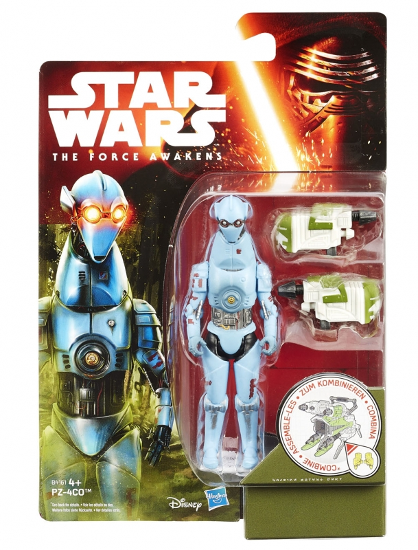 Star Wars Action Figure - The Force Awakens - Jungle Space - PZ-4CO