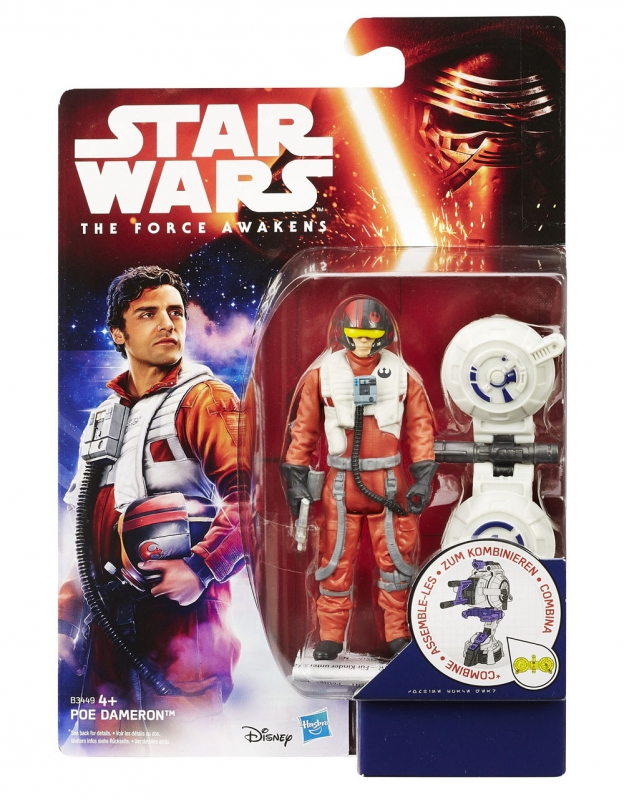 Star Wars Action Figure - The Force Awakens - Jungle Space - Poe Dameron