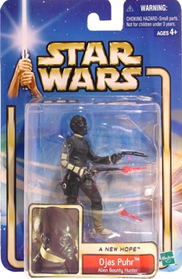Star Wars Action Figure - Djas Puhr Alien Bounty Hunter