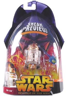 Star Wars Action Figure - R4-G9 (Sneak Preview)