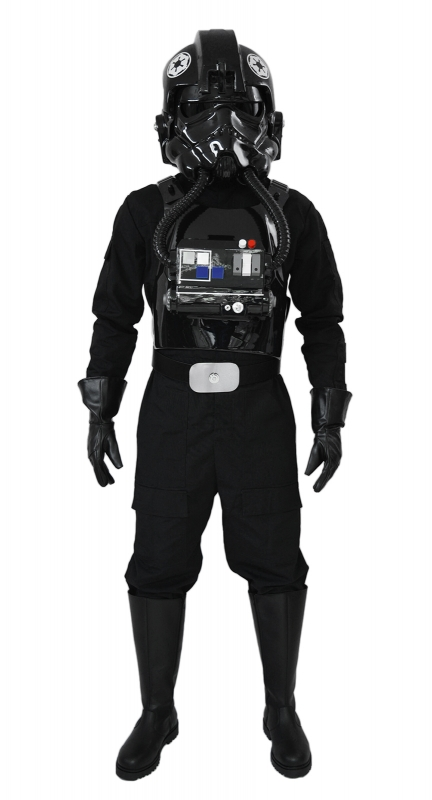 Star Wars TIE Pilot Complete Armour Package with Accessories - Ready to Wear