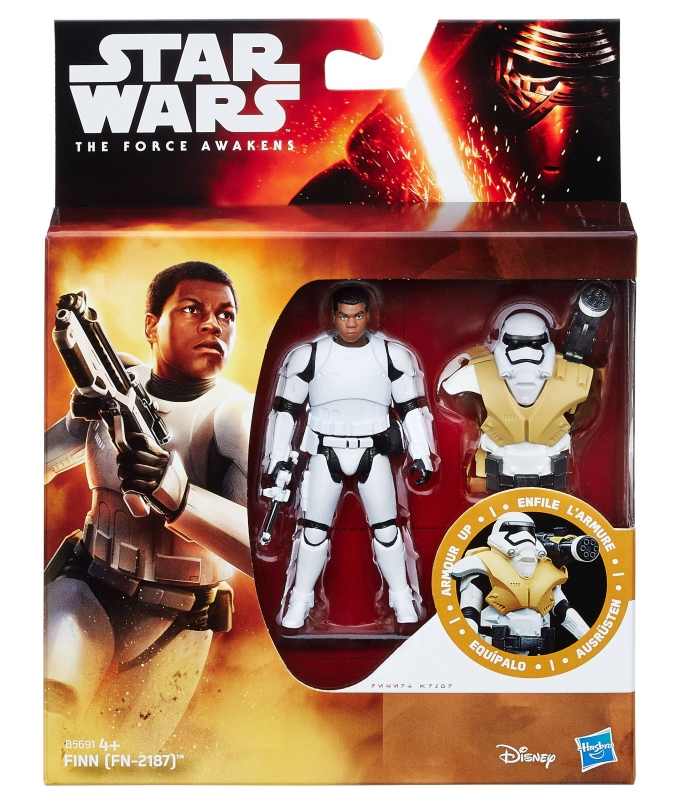 Star Wars Action Figure - The Force Awakens - Snow Desert - Armour Up - Finn