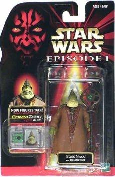 Star Wars Episode 1 Boss Nass Action Figure