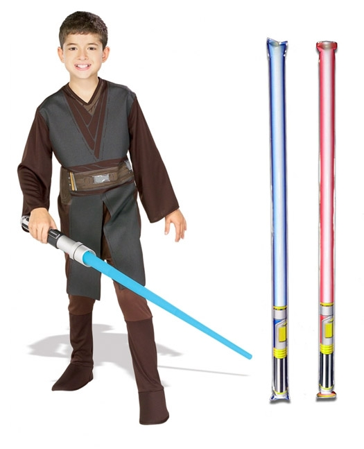 Star Wars Costume Basic Child - Anakin Skywalker Episode 3 - WITH x2 FREE LIGHTSABERS
