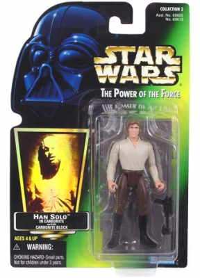 Star Wars Action Figure - Han Solo with Carbonite Block