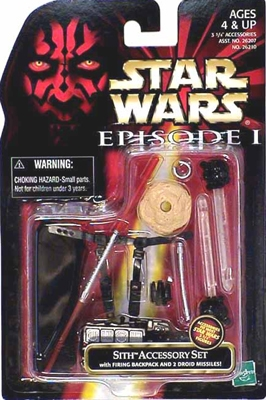 Star Wars Action Figure - Sith Accessory Set - Episode 1