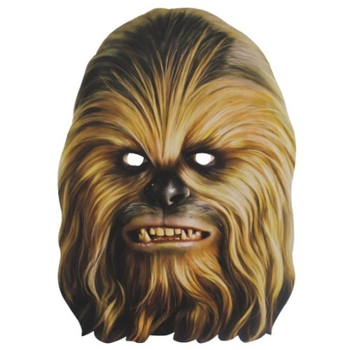 Star Wars MASKS - Character Mask - Chewbacca  sc 1 st  Jedi-Robe.com & STAR WARS : Costumes and Toys : Star Wars MASKS