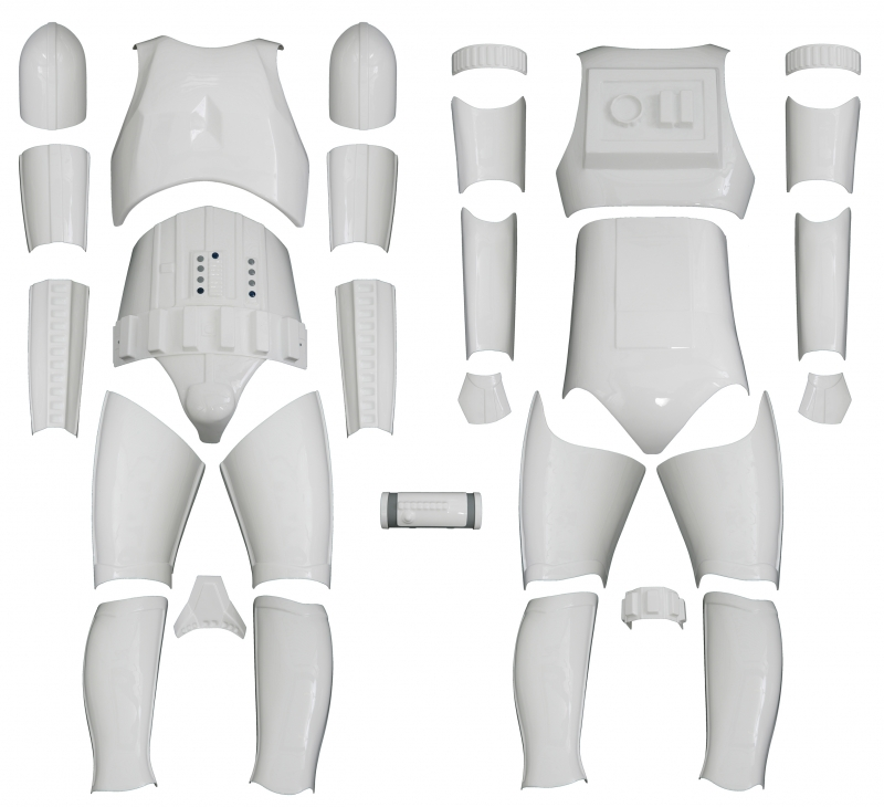 Star Wars Stormtrooper Costume Armour Kit Version 1 - No Helmet