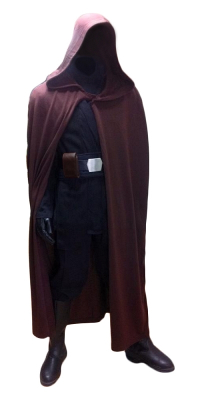 Star Wars Luke Skywalker Jedi Robe ONLY - Dark Brown