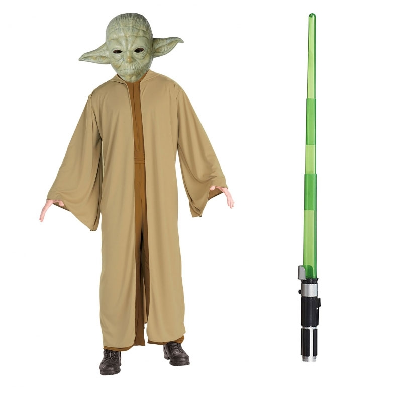 60922f0d369e STAR WARS : Costumes and Toys : Star Wars Costume Adult Lightsaber ...