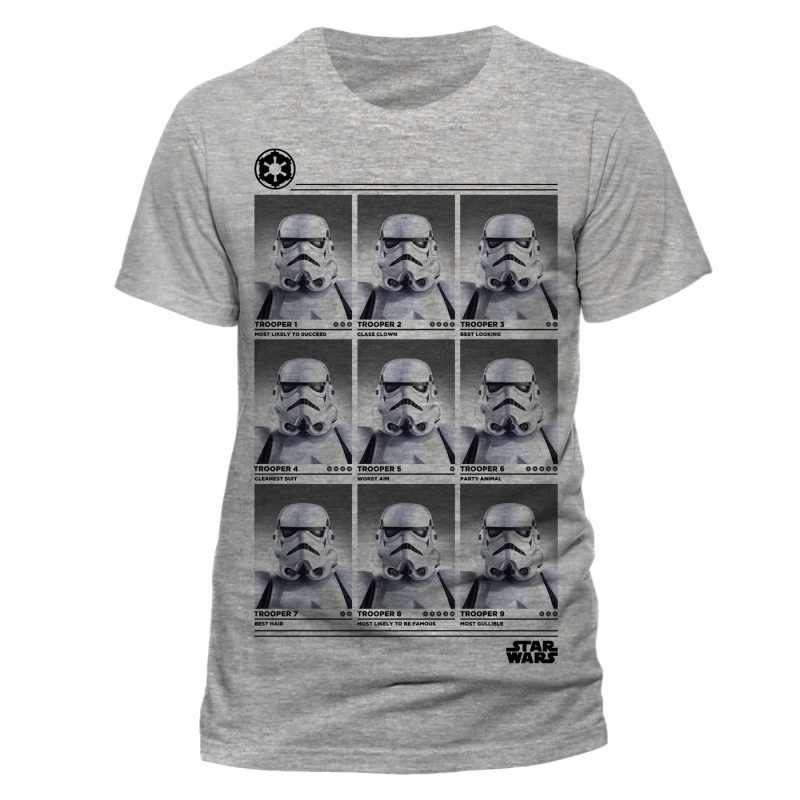 Star Wars T Shirts - Stormtrooper Yearbook