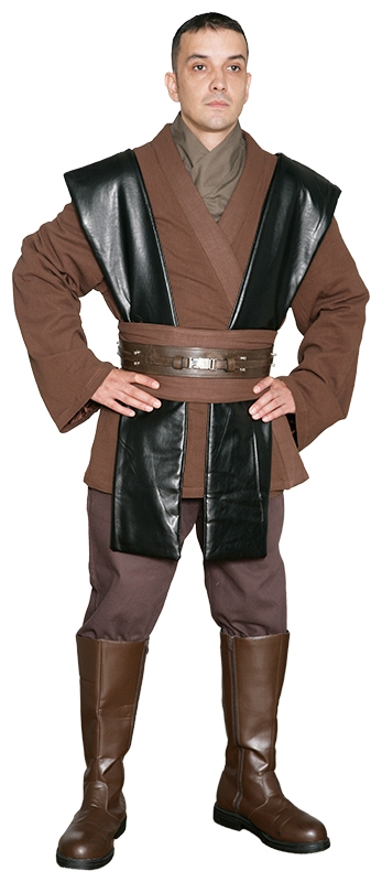 Star Wars Anakin Skywalker Jedi Knight Costume - Body Tunic Only - Replica Star Wars Costume