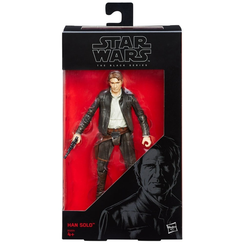 Star Wars 6 inch Figure - The Force Awakens Black Series - Han Solo