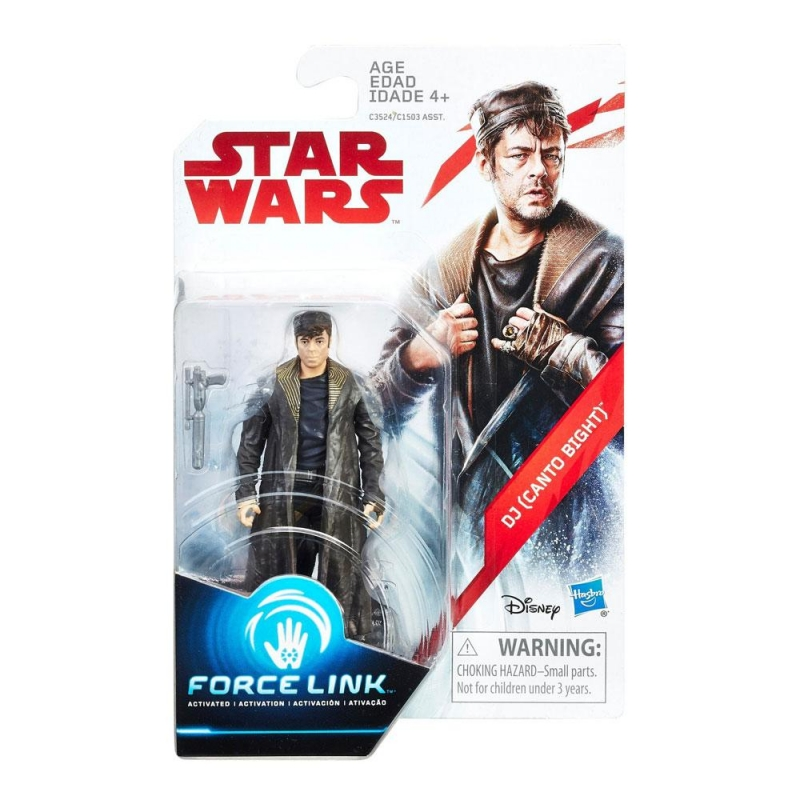 Star Wars Action Figure - DJ (Canto Bight) - The Last Jedi