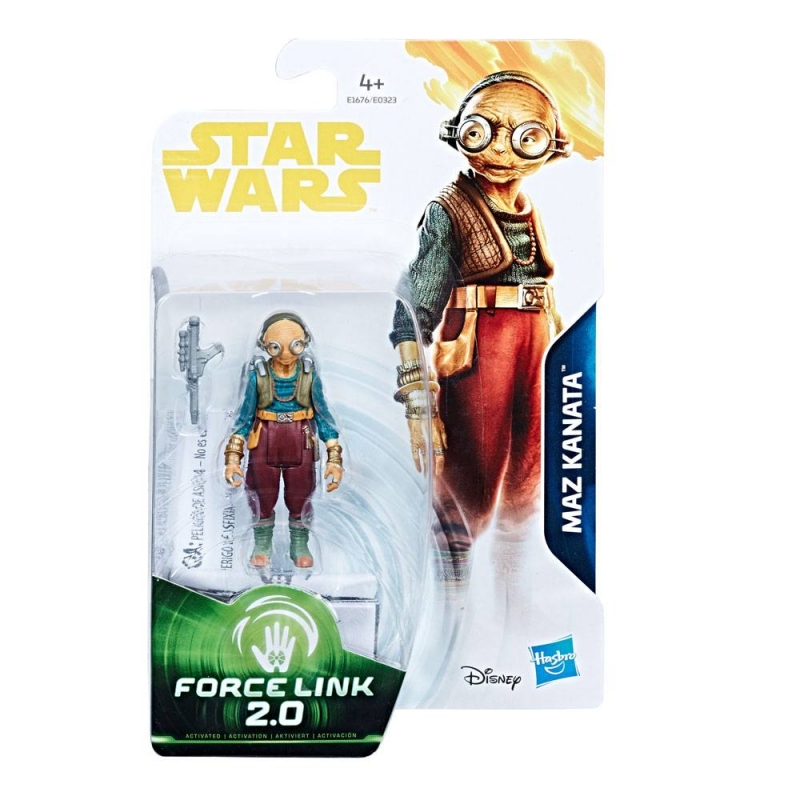 Star Wars Action Figure - The Last Jedi - Maz Kanata