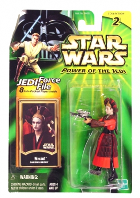 Star Wars Action Figures - Sabe Queens Decoy - Power of the Jedi