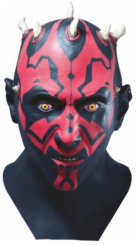 Star Wars Darth Maul Life Size Official Latex Costume Mask