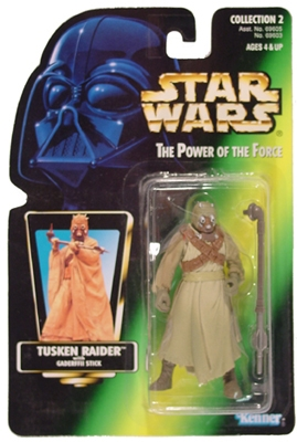 Star Wars Action Figure - Tusken Raider with Gaderffii Stick
