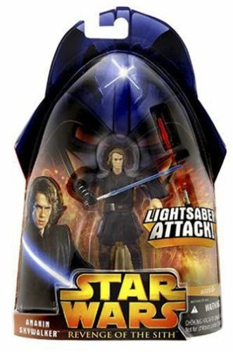 Star Wars Action Figure - Anakin Skywalker (Lightsaber Attack)