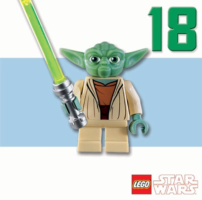 star wars greeting cards 160 x 160 mm lego star wars yoda 18