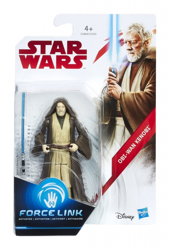 Star Wars Action Figure - Obi Wan Kenobi - The Last Jedi