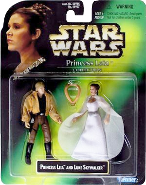 Star Wars Multi Action Figures - Princess Leia Collection - Princess Leia and Luke Skywalker
