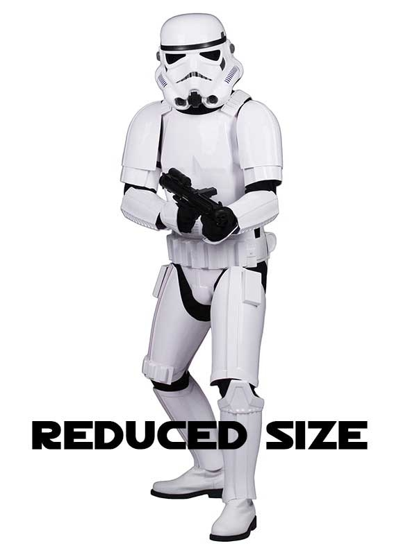Star Wars Stormtrooper Costume Armour Complete Package - Ready to Wear - REDUCED SIZE