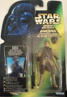 Star Wars Action Figure - Princess Leia with Boushh Disguise