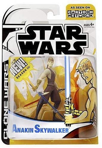 Star Wars Action Figure - Clone Wars - Anakin Skywalker - Animated Limited Edition