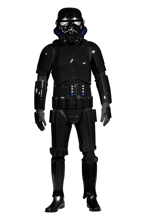 Star Wars Shadowtrooper Costume Armour Fully Strapped with Soft Parts