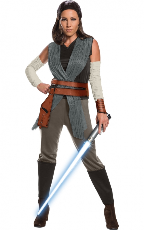 Star Wars Costume Adult - The Last Jedi - Rey