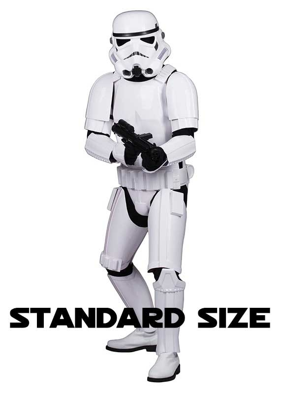 Star Wars Stormtrooper Costume Armour Complete Package - Ready to Wear - STANDARD SIZE
