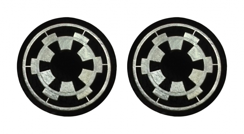Star Wars Imperial Reserve Pilot Iron-On Imperial Patches - Set of 2