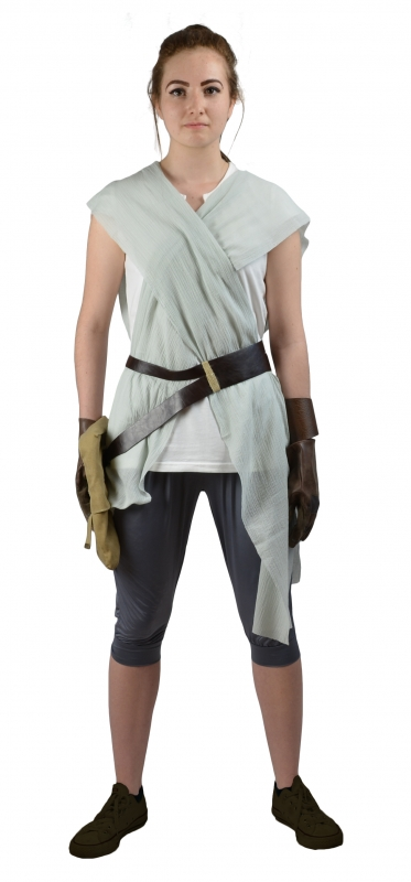 Star Wars The Force Awakens Rey Replica Costume - Replica Star Wars Costume