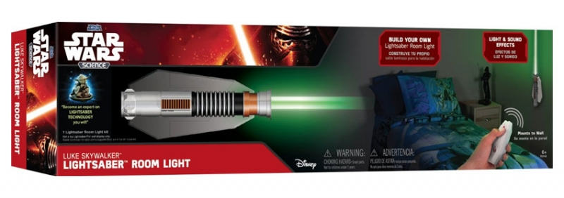 Star Wars GIFTS AND GAMES - Star Wars Science Luke Skywalker Lightsaber Room Light