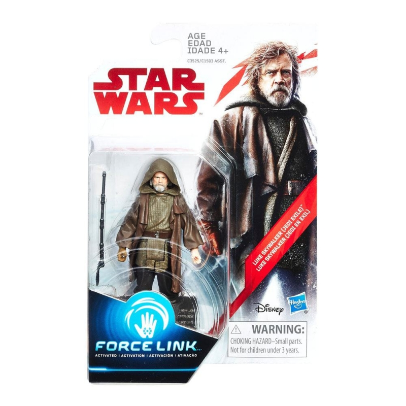 Star Wars Action Figure - Luke Skywalker (Jedi Exile) - The Last Jedi