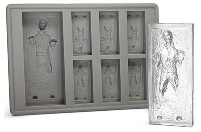 Star Wars Gifts and Games - Han Solo in Carbonite Silicone Tray