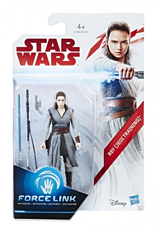 Star Wars Action Figure - Rey (Jedi Training) - The Last Jedi