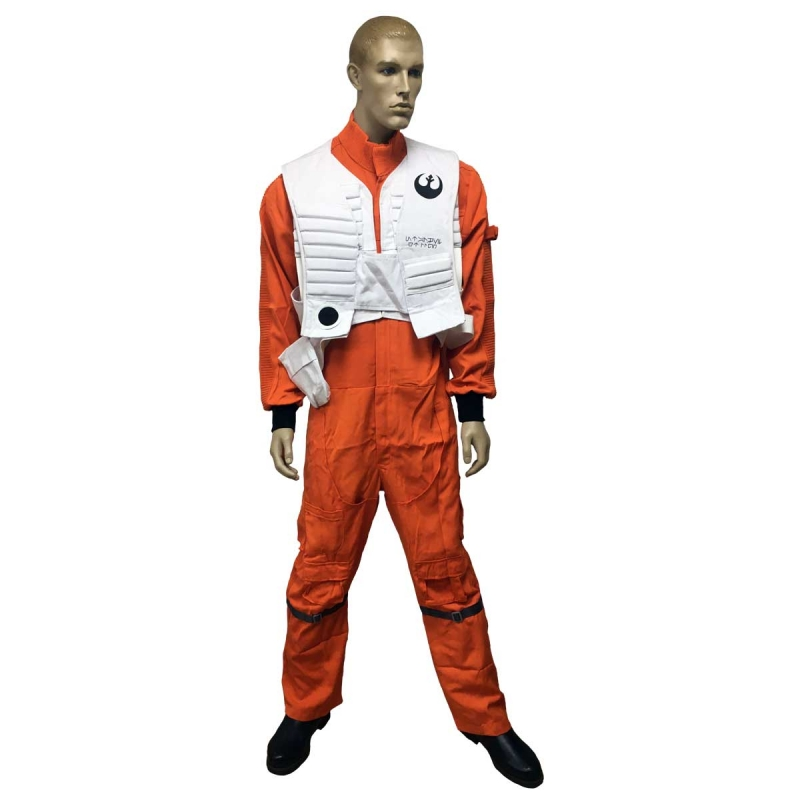 Star Wars Poe Dameron Costume - The Last Jedi Replica