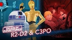 R2-D2 and C3PO - Trash Compactor Rescue | Star Wars Galaxy of Adventures