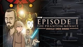 How The Phantom Menace Should Have Ended