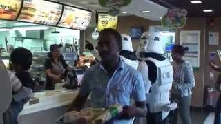 Star Wars Stormtroopers Love a Big Mac and Fries.... Funny
