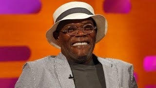Samuel L. Jackson's Purple Light Saber - The Graham Norton Show